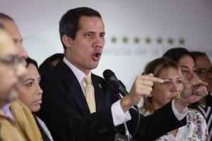 Guaidó al régimen: No nos van a doblegar con violencia política y persecución