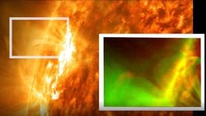 La Nasa detectó en el Sol una explosión magnética nunca antes vista (VIDEO)
