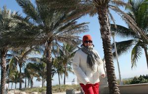 Tuvimos otra mañana fría en el sur de Florida