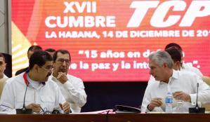 El debilitado bloque de la Alba rechazó las acusaciones de EEUU de promover crisis en la región