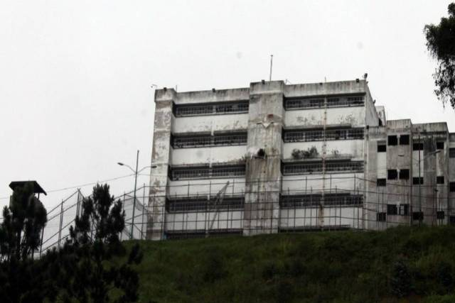 Cárcel de Ramo Verde, imagen archivo.