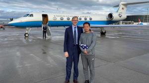 Xiyue Wang, el estudiante preso en Irán desde 2016, llegó a Estados Unidos