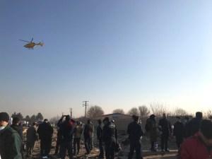 La mayoría de pasajeros del avión que se estrelló en Irán eran extranjeros
