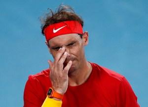 Rafa Nadal cae sorpresivamente ante David Goffin en la ATP Cup