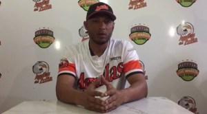 En video: El pelotero Alex Romero pidió disculpas tras la trifulca en la Lvbp
