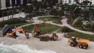 Vierten arena en playas de Miami Beach