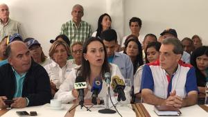 María Corina Machado: Yaracuy no acepta la política de traición, la Venezuela decente se va a imponer