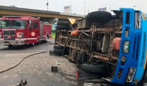 Conductor venezolano se dio a la fuga tras fuerte accidente de tránsito en Perú (Fotos)