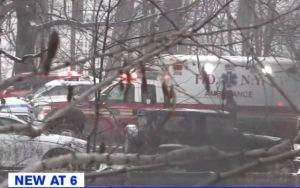 Chocan 15 autos en El Bronx por nevada