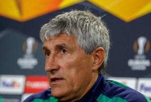 Barcelona anunció oficialmente a Quique Setién como su nuevo entrenador