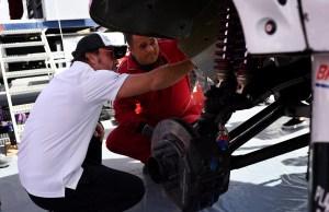 Entre dunas y cañones, Fernando Alonso busca su ritmo en el Dakar