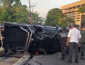 Fuerte colisión en Ciudad Bolívar dejó ocho lesionados, cinco de ellos militares