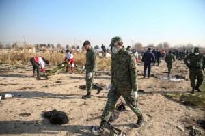 Detenida la persona que grabó un video del derribo del avión en Irán