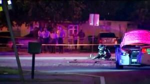 Un muerto y un herido en accidente de motocicleta que golpea patrulla de policía