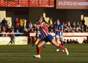 ¡Histórico! Deyna Castellanos debutó con el Atlético de Madrid con victoria (VIDEO)