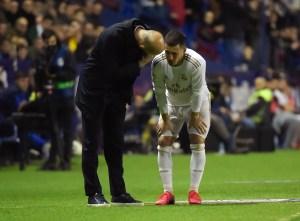 """Zidane ve a Hazard """"muy cerca"""" de reaparecer en el Real Madrid"""