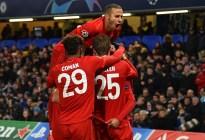 Bayern de Múnich acaricia los cuartos de Champions tras vencer al Chelsea