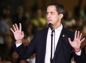 Guaidó: Los venezolanos no reconocemos una farsa, como no lo hicimos en mayo de 2018