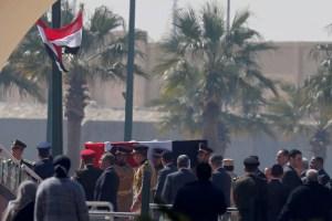 Calles cerradas y recuerdos en los medios ante el funeral de Mubarak