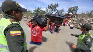 Más de la mitad de los migrantes venezolanos en Colombia permanecen de manera irregular
