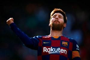 Messi dejó gateando a medio Barça para hacer este terrible GOLAZO durante un entrenamiento (VIDEO)