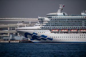 Al menos 24 estadounidenses infectados con coronavirus en el crucero Diamond Princess
