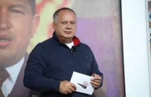 """Diosdado planea sancionar a organizaciones y particulares """"que reciben financiamiento de EEUU"""""""