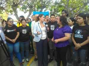 Jóvenes del CDU marcharon en respaldo de la autonomía de la Universidad del Zulia