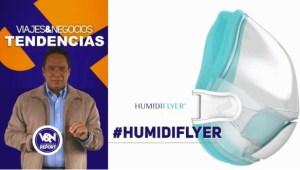 Viajes & Negocios Tendencias: Humidiflyer la singular máscara para viajar más cómodos en avión (Video)
