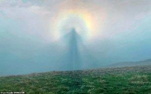 ¿Un ángel de verdad? La impresionante imagen que captó un fotógrafo en el cielo