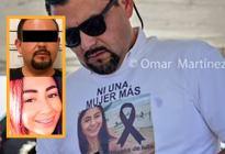 """¡Cínico! Acosó a una joven, la asesinó y fue a su funeral con una camisa de """"Ni Una Más"""""""