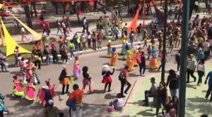 Caraqueños salieron a celebrar los Carnavales 2020 pese a la crisis económica (VIDEO)