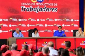 """Maduro admitió que los bolichicos generaron """"corrupción, pudrición y descomposición"""" en Pdvsa"""