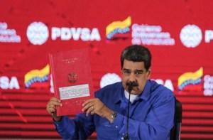 """Maduro creó una """"comisión presidencial"""" para restructurar a una Pdvsa debilitada por la corrupción"""