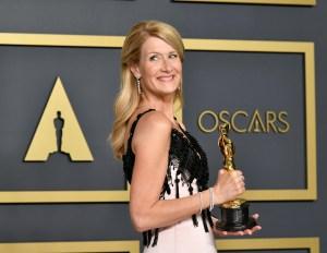 Laura Dern ganó el premio a Mejor actriz de reparto y se lo dedicó a sus padres