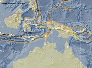 Terremoto de magnitud 5,9 sacude la isla de Jamdena en Indonesia