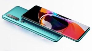 Xiaomi lanzó sus nuevos teléfonos Mi 10 con tegnología 5G y cámara de 108 megapíxeles (Fotos)