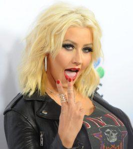 "¡Upa! La foto ""prohibida"" que compartió Christina Aguilera"