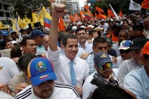 Guaidó pronosticó este Domingo de Ramos un retorno en libertad para los migrantes venezolanos