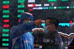 La Bolsa de Tokio cae por miedo al coronavirus