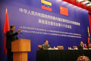 Venezuela inicia conversaciones con China para buscar apoyo por caída de precios petróleo