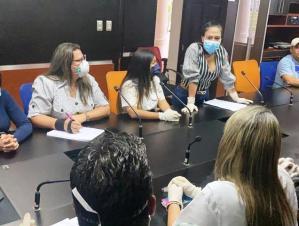 Laidy Gómez pidió al ministerio de Salud enviar material de bioseguridad al Hospital Central de Táchira