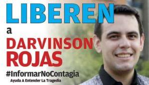 Darvinson Rojas cumple más de 140 horas secuestrado por el régimen