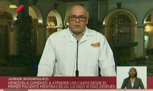 Jorge Rodríguez reporta segundo fallecimiento por coronavirus en Venezuela