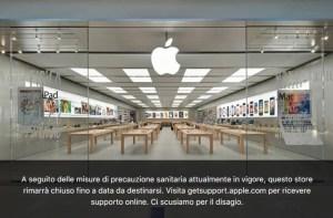 Coronavirus: Apple cerró todos sus locales en Italia