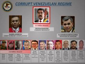 Conozca los detalles de los cargos que se les imputan a Nicolás, Diosdado, Cliver y compañía
