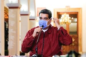 """""""Me preocupan estas transmisiones comunitarias"""", afirmó Maduro tras nuevos contagios"""