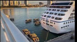 Se confirma el desembarque de tripulantes enfermos de dos cruceros en Miami