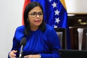 Delcy Eloína informa que en Venezuela se registraron 4 nuevos casos de coronavirus, para un total de 159