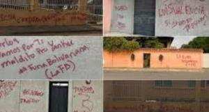 """La """"Furia Bolivariana"""" grabó mensaje en la residencia del diputado Ángel Álvarez Gil (Foto)"""